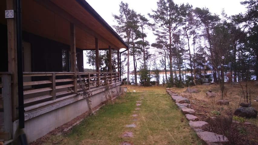 Aland architect beach villa, 360 degree sea view - Saltvik - Dom