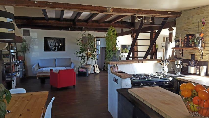 Maison attipique de 140m² à 10 min de l'océan - Saint-Vincent-de-Tyrosse - Talo