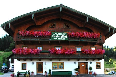 Urlaub am Bauernhof Laubichlhof - Flachau - Apartament