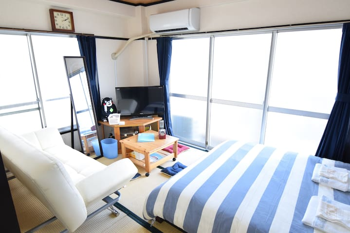 Best Access from HND, Free WIFI, 4ppl max - Ōta-ku - Appartement