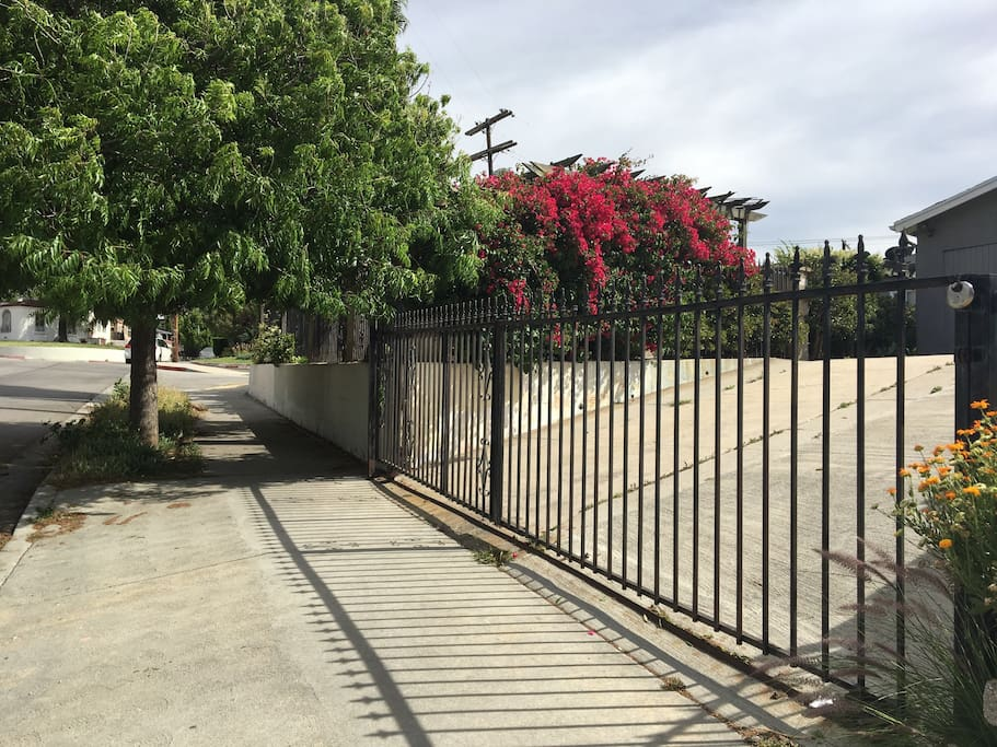 Driveway access on Avenue 33.