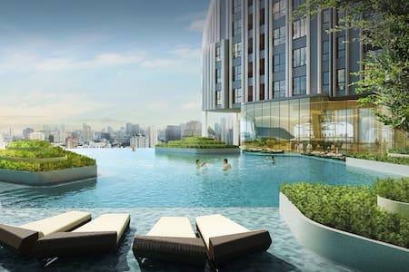 MAXSIMUM beautiful New design, BTS - กรุงเทพมหานคร - Apartament