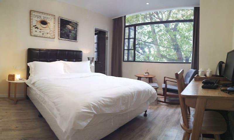 麓墅B01--您远方的家 近地铁二号线,临麓山风景区的特色民宿精品酒店 - Changsha - Villa