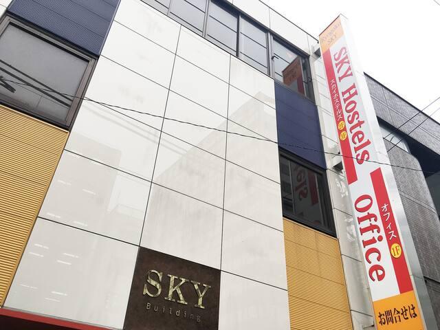 SKY Hostels 両国 302号室(セミダブルベッド)
