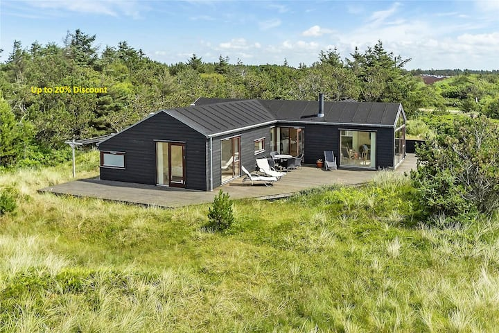 Luxury 109m2 cottage Dunes/NorthSea Løkken/Blokhus