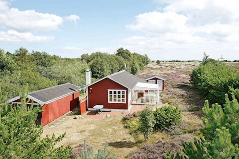 Spacious Holiday Home in Albæk Jutland with Sea View