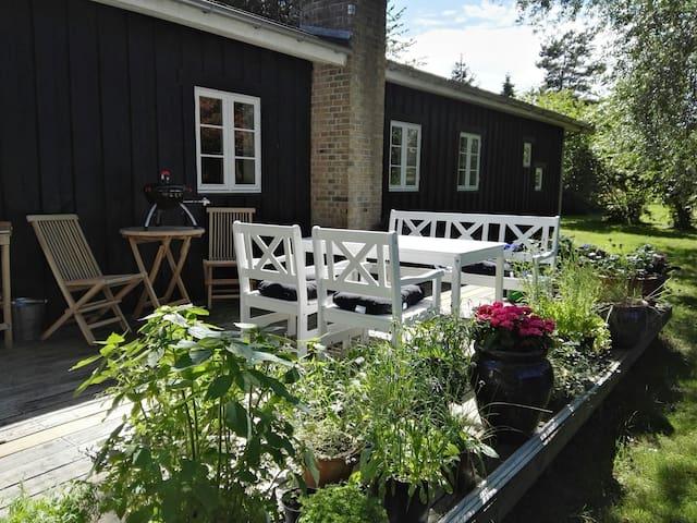 Sommerhus i Nordsjælland tæt ved vandet