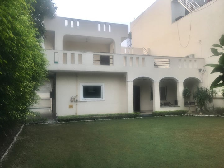 A stay in a  Bunglow with a large private garden