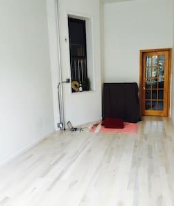 Studio Apartment with Yoga/Meditation Studio - New York