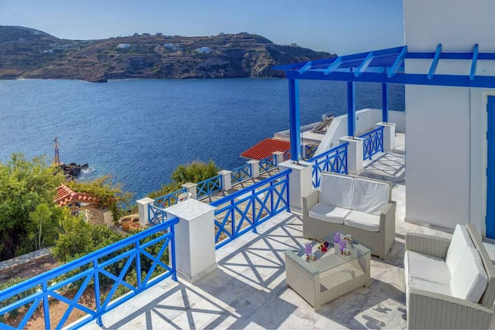 Syros Private House with amazing view on the sea!!