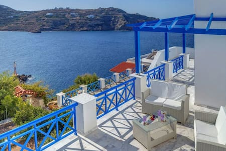 Syros Private House with magical view on sea!!