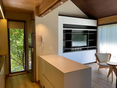 Coqueto, funcional y céntrico apartamento.