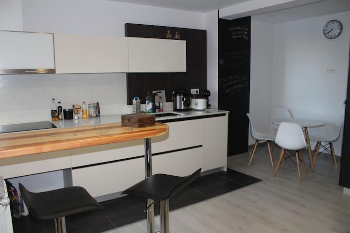 Habitación céntrica con desayuno - Zarautz - Daire