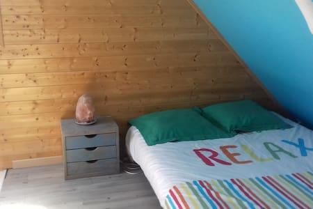 Belle chambre privée dans maison près de Caen - Frénouville