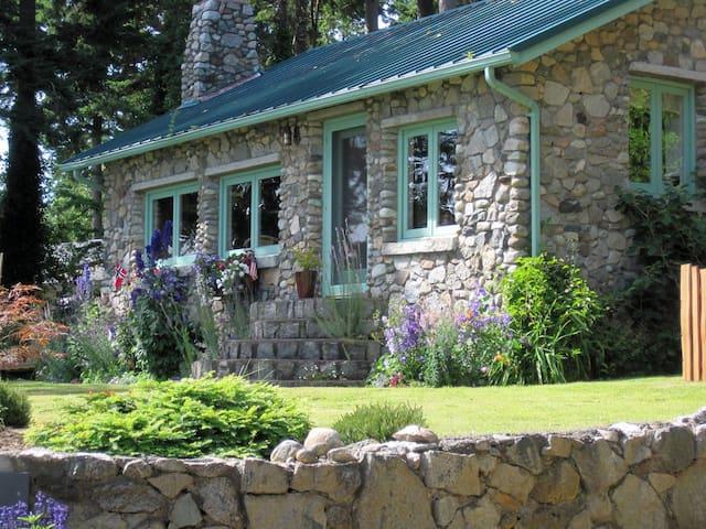 The Stone Cottage on Samish Island