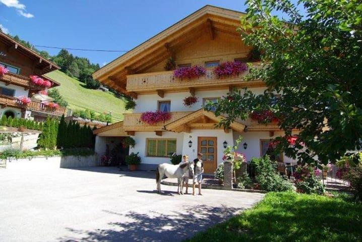 Urlaub am Bauernhof Oberhaushof 4-7 Personen ! - Gerlosberg - アパート