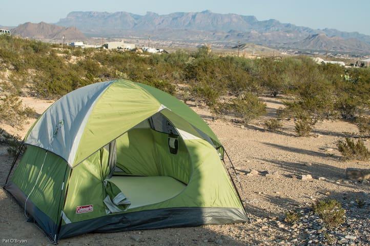 2-person tent-Terlingua/Big Bend #2 - Terlingua - Tenda de campanya