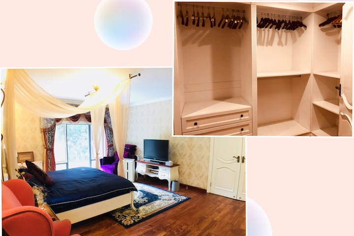 逸新空气净化器让室内时时如森林,超大衣帽间,完美收纳行李和衣物!