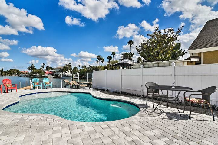 Bayfront Haven w/ Pool & Dock - 2 Blocks to Beach!