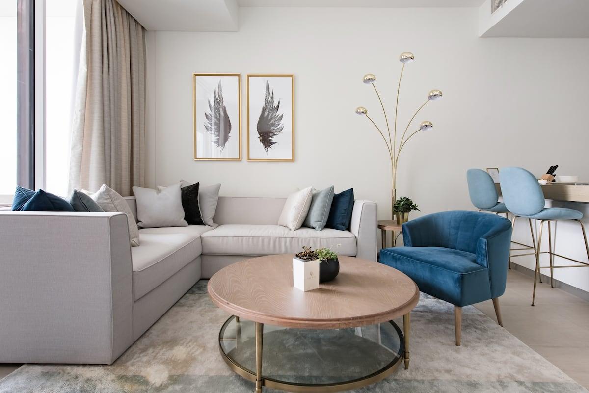 Luxuriöses Apartment mit phänomenalen Ausblick auf das Meer und zum Burj-Al Arab