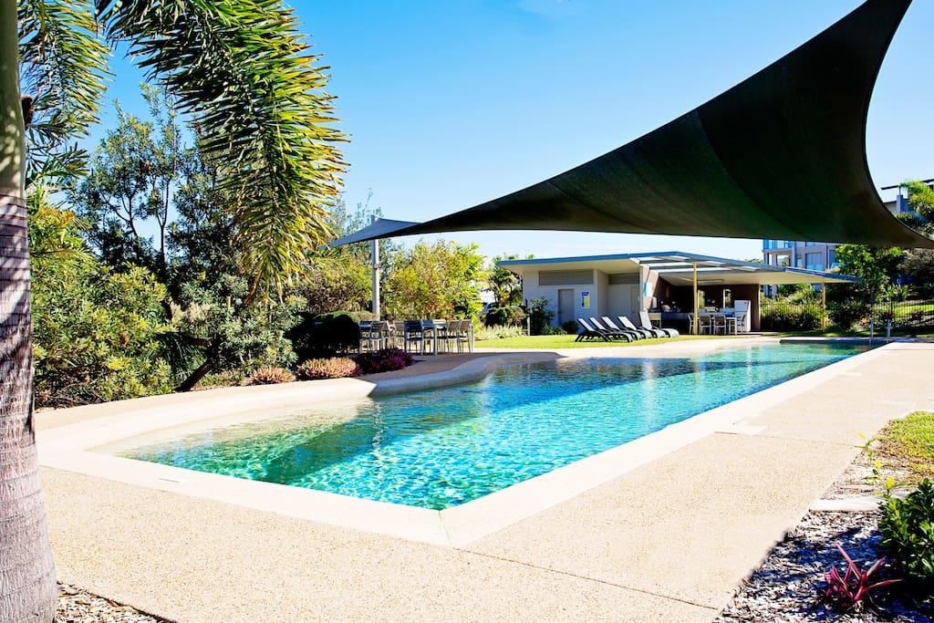 Resort style facilities