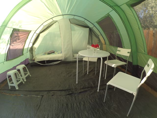 Spacious tent next to the sea! - Agios Dimitrios - Tent