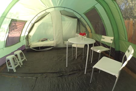 Spacious tent next to the sea! - Agios Dimitrios - Tenda de campanya
