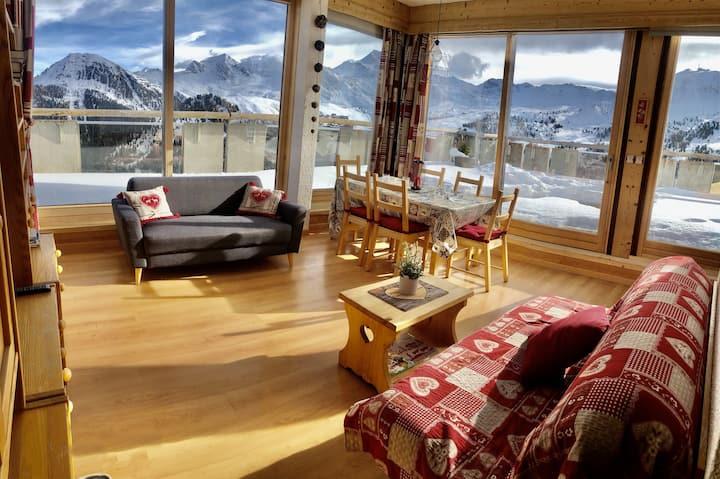 3 Bdr Amazing Panoramique view facing Mont Blanc