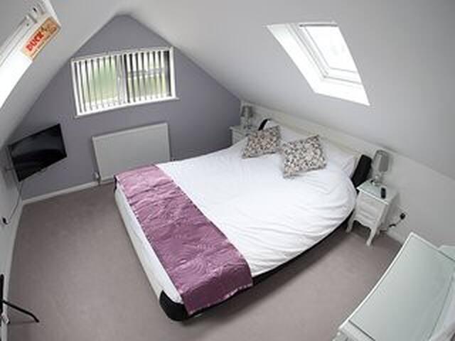 Suite 2 bedroom,bathroom,kitchen. - West Drayton - Bed & Breakfast