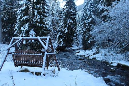 Cabin Retreat on Cottonwood Creek Near Bozeman