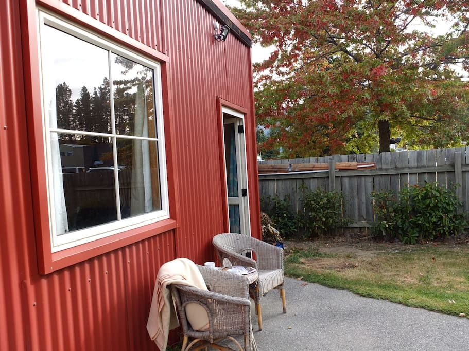 Front of Red Shed