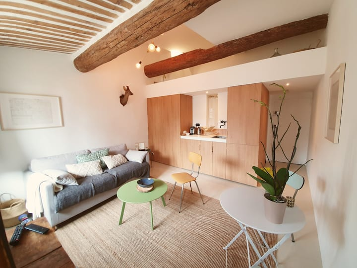 A stunning studio in the heart of Aix-en-Provence