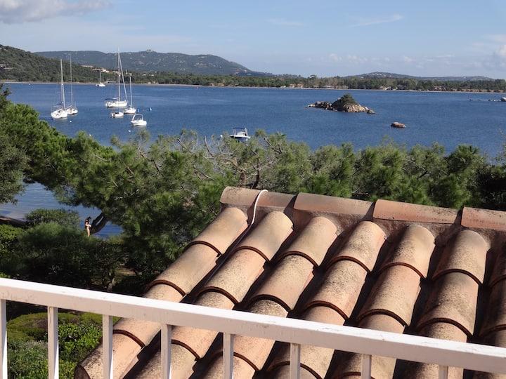 mini villa 40m de la mer, vue panoramique