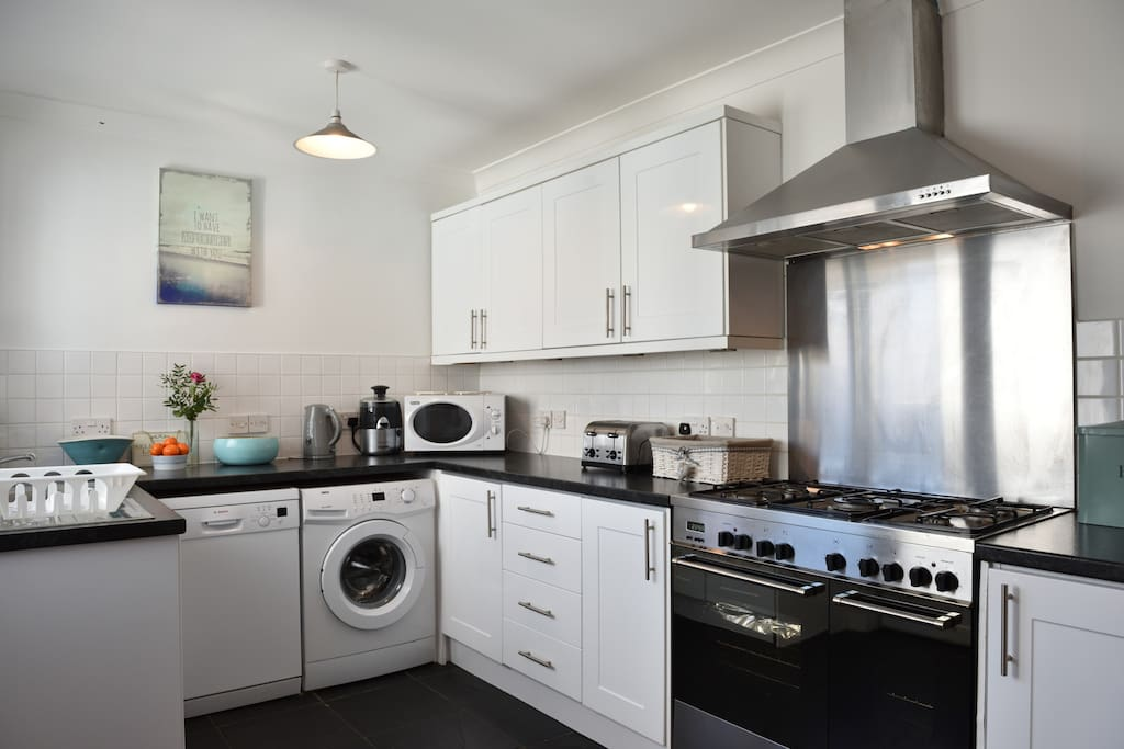 The Kitchen with all appliances and everything you need