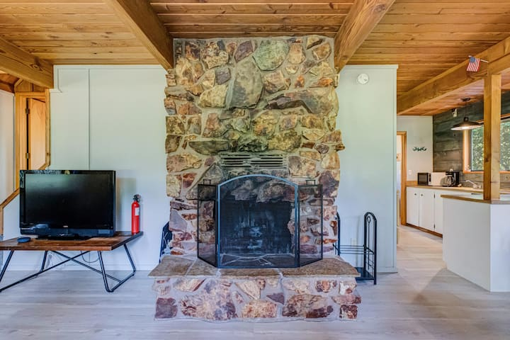 Real Wood Fire Place