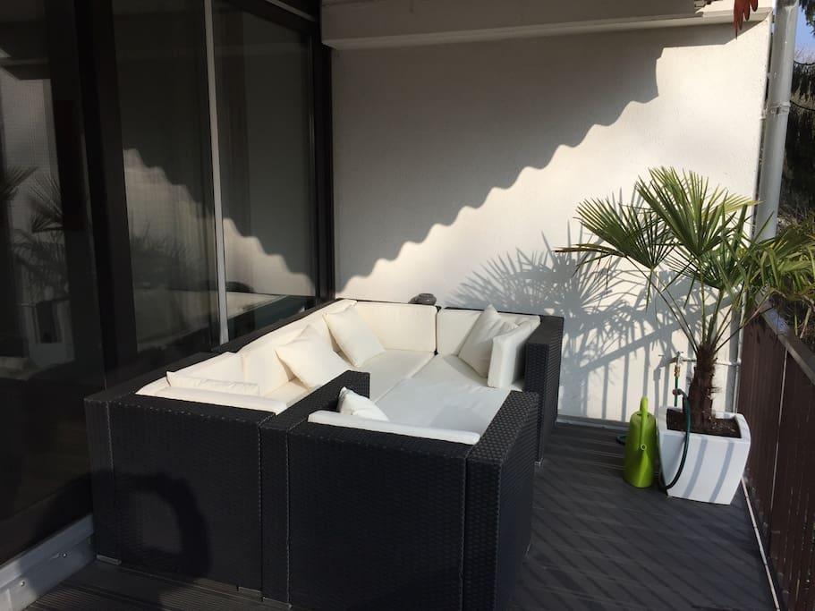 Lounge Balkon