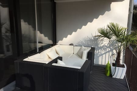 Stylish apartment near Duesseldorf airport - Mettmann - Pis