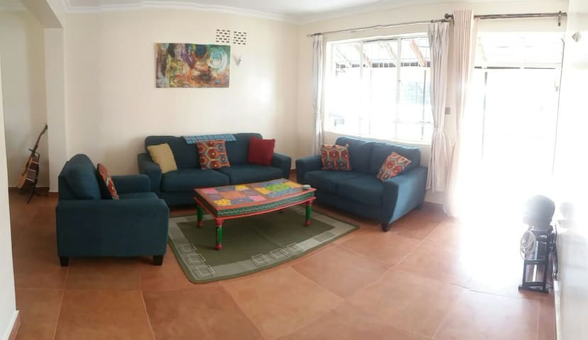 Bright, Peaceful Nairobi Apartment - Nairobi - Apartament