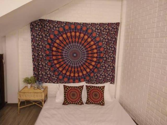 Room 2 - Warm double room