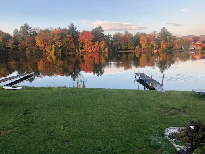 Berkshire Lakehouse - 3 bedrooms - sleeps 5