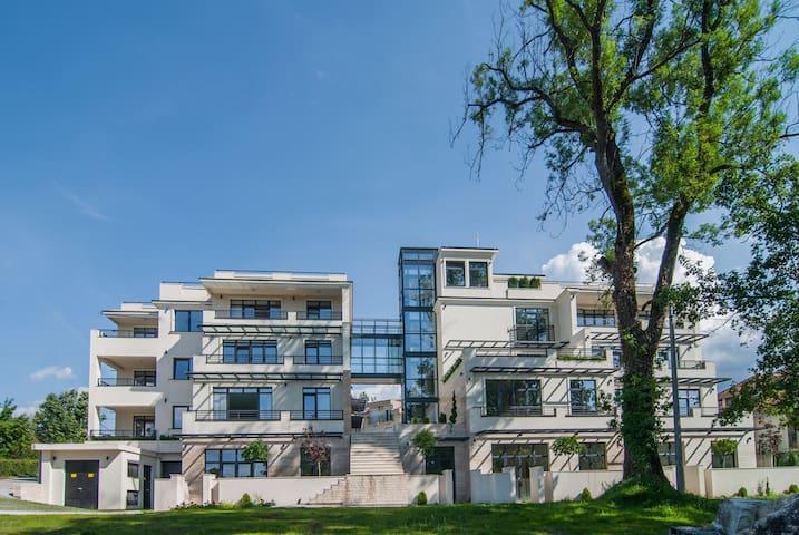 Vrnjacka Banja Presidential apartment with view