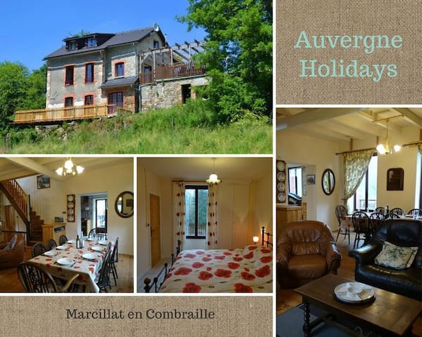 Secluded Country cottage - Marcillat-en-Combraille - Casa