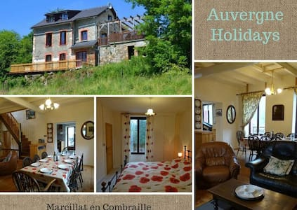 Secluded Country cottage - Marcillat-en-Combraille