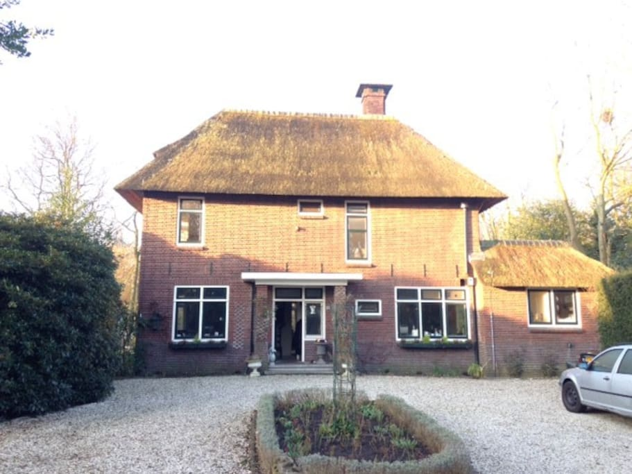 our lovely country house with thatched roof