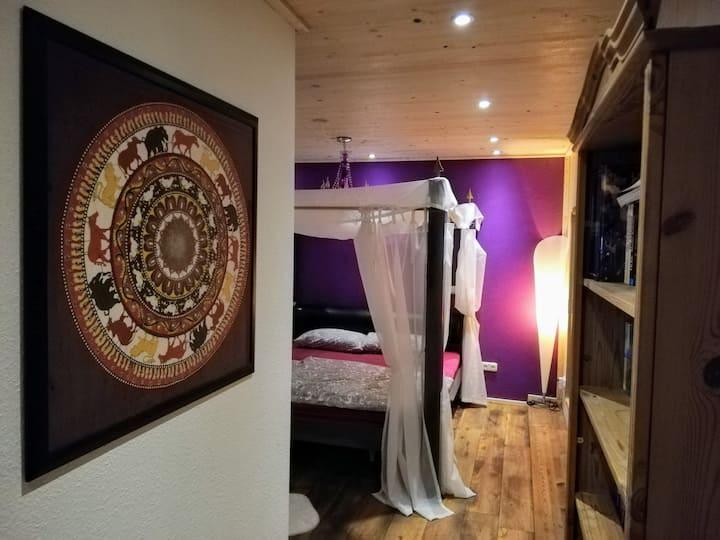 Romantisches Ferienhaus und secret escape