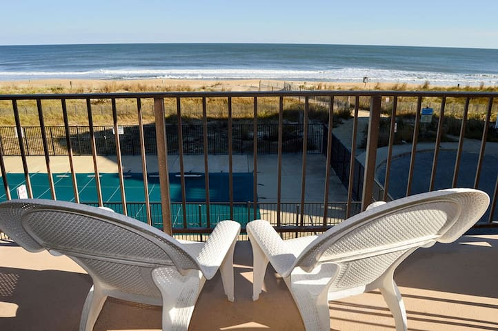 Surfside 84 #8 - Oceanfront w/ Pool in North OC!