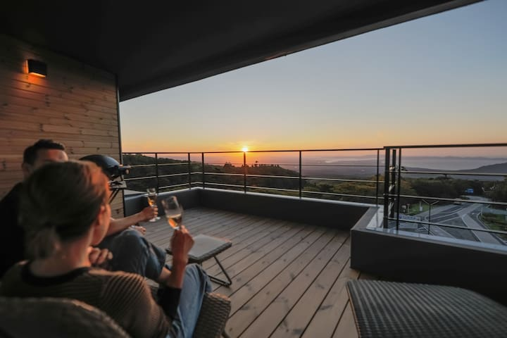 The Mountain Chalet with beautiful sunset view