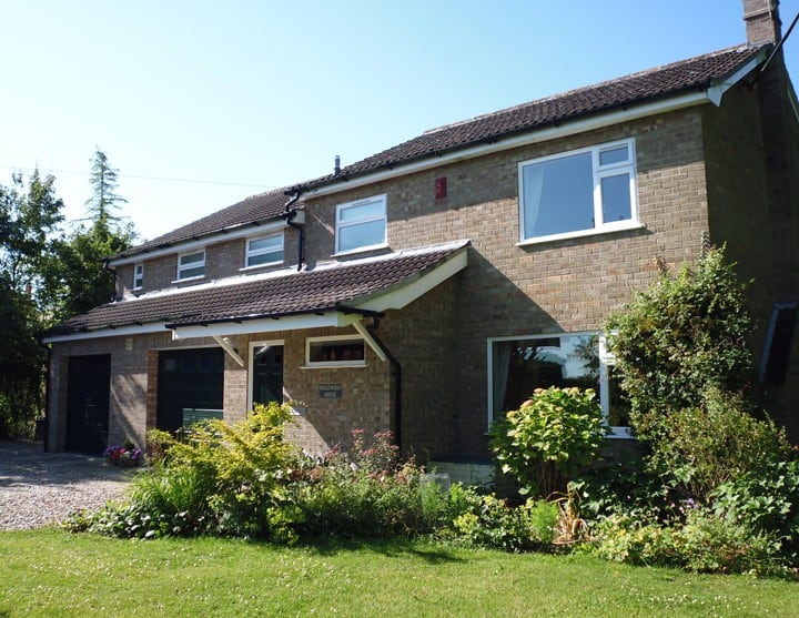 Inglewood House, Bressingham, Diss (£45sgl/£60dbl)