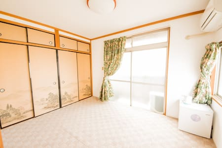 QQ Guest House 502 - Ōsaka-shi - Appartement
