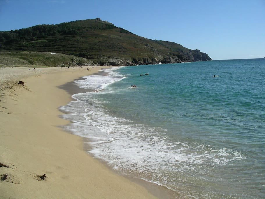 Stunning beaches. Some of the best in Spain.